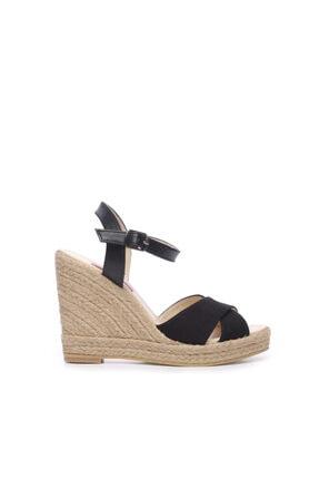 Kemal Tanca Kadın Vegan Sandalet Sandalet 560 056-07 Bn Sndlt 0