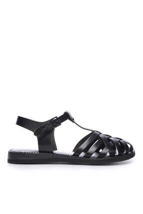 Kemal Tanca Kadın Derı Sandalet Sandalet 649 67 Bn Snd 0