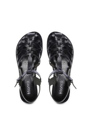 Kemal Tanca Kadın Derı Sandalet Sandalet 649 67 Bn Snd 3