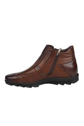 MARCOMEN 09717 Kahve %100 Deri Casual Erkek Bot Ayakkabı 1