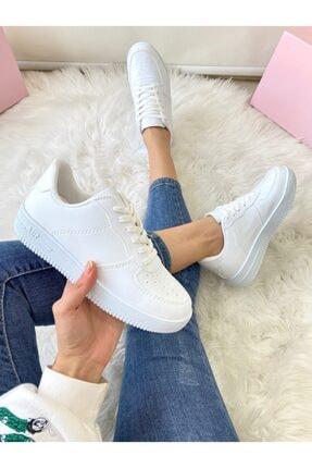 ELSESHOES Unısex Beyaz Sneaker 0
