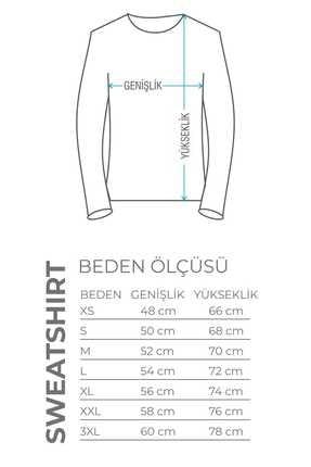 Burlu Kanka Cool Ayılar Üç Iplik Sweatshirt 3