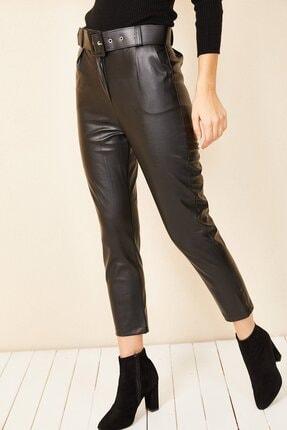 HAKKE Havuç Model Deri Pantolon 0