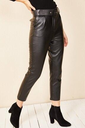HAKKE Havuç Model Deri Pantolon 1