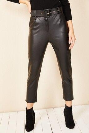 HAKKE Havuç Model Deri Pantolon 2