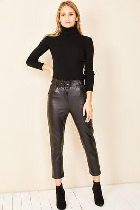 HAKKE Havuç Model Deri Pantolon 3