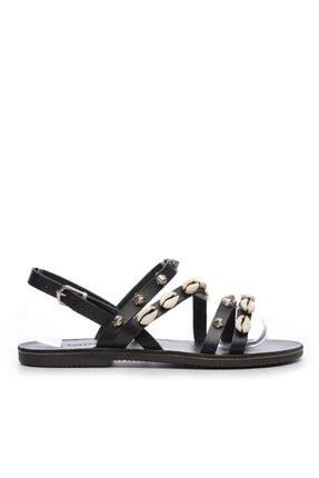 Kemal Tanca Kadın Derı Sandalet Sandalet 607 1986 Byn Sndlt Y19 0