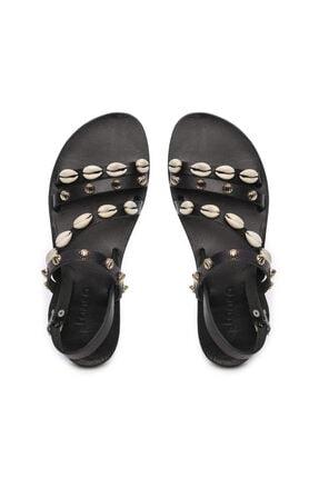 Kemal Tanca Kadın Derı Sandalet Sandalet 607 1986 Byn Sndlt Y19 4