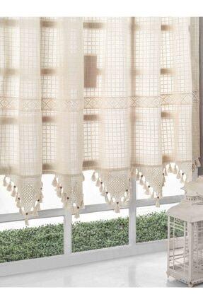 Buldan CSN Tekstil Buldan Monika Pamuklu Natural Perde 0