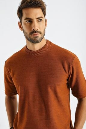 CHUBA Erkek Oversize Triko T-shirt Tarçın 20w188 2