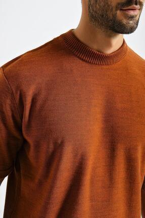 CHUBA Erkek Oversize Triko T-shirt Tarçın 20w188 3