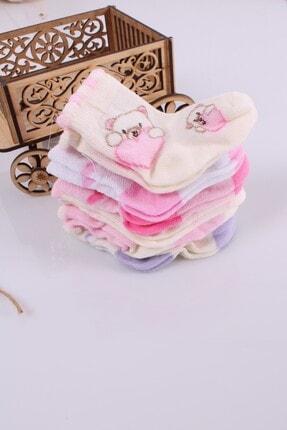 Babydonat Kız Bebek Çorabı 6 Adet 0-3 Ay 2