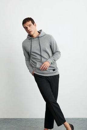 GRIMELANGE Jorge Erkek Grimelanj Basic Kapüşonlu Sweatshirt 4