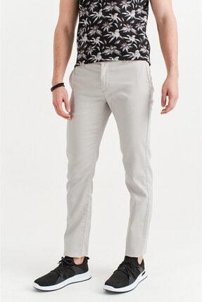 Avva Erkek Açık Gri Yandan Cepli Armürlü Slim Fit Pantolon A01s3081 1