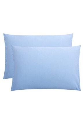 StellaFlavo Stella Flavo 2'li Yastık Kılıfı 50x70+20cm Kapaklı Mavi 0