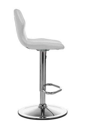 Seduna Kuga Bar Taburesi Beyaz | Bar Sandalyesi 2