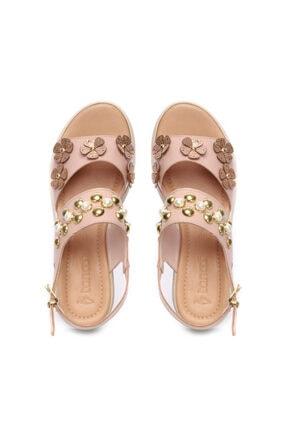 Kemal Tanca Kadın Derı Sandalet Sandalet 169 53074 Bn Sndlt 3