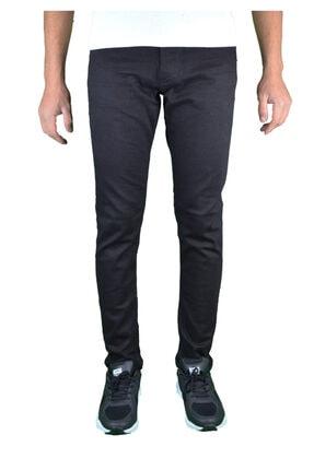 , Slim Fit Siyah Erkek Kot Pantolon resmi
