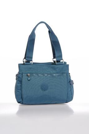 Smart Bags Smbky1125-0050 Buz Mavi Kadın Omuz Çantası 0