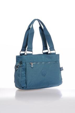 Smart Bags Smbky1125-0050 Buz Mavi Kadın Omuz Çantası 1