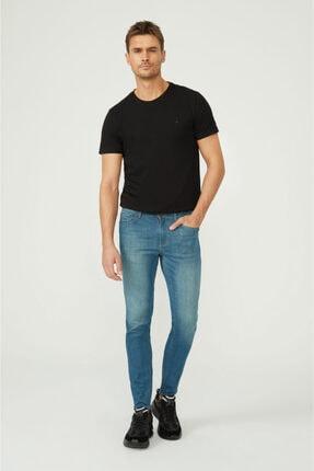 Avva Erkek Mavi Skinny Fit Jean Pantolon E003507 2