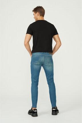 Avva Erkek Mavi Skinny Fit Jean Pantolon E003507 3