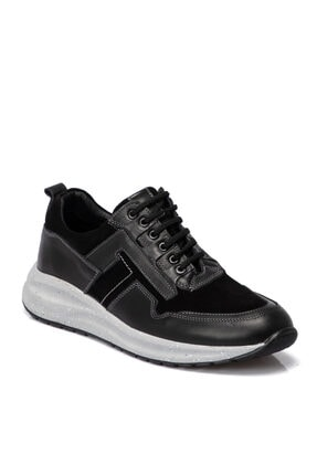 Siyah Deri Erkek Ayakkabı 54876f49 E20S1AY54876