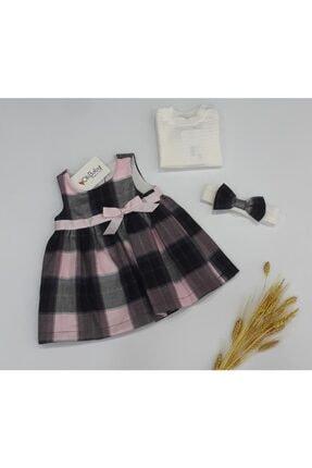 OLİBABY Aylık Kız Bebek Elbise 1