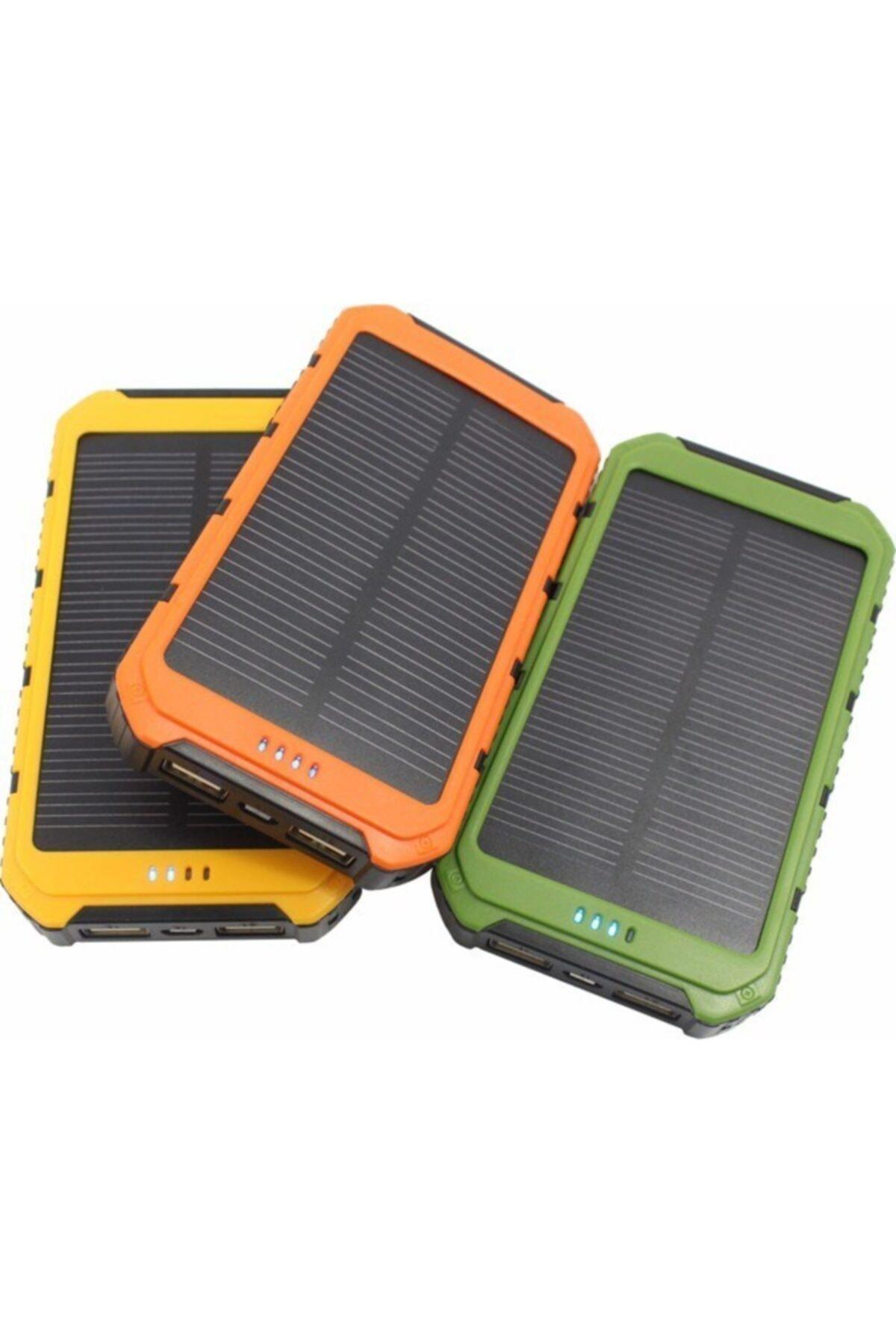 matchbang Solar Güneş Enerjili 15000 Mah Taşınabilir Şarj Cihazı - Powerbank