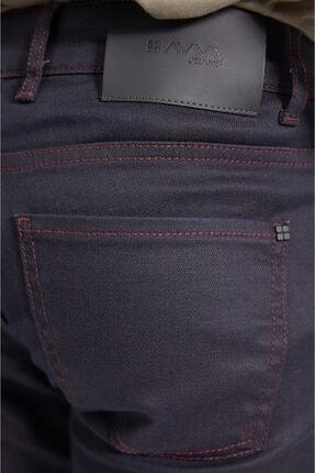 Avva Erkek Bordo Slim Fit Jean Pantolon E003503 2