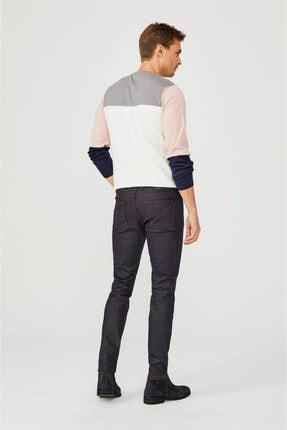 Avva Erkek Bordo Slim Fit Jean Pantolon E003503 4