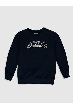 LC Waikiki Erkek Lacivert Always Perfect Çocuk Sweatshirt 0