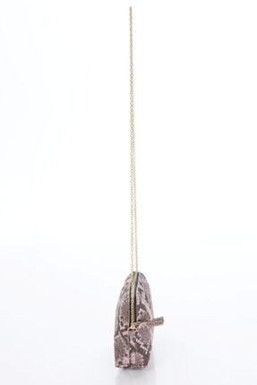 ICONE BAG Icone Pudra-kahve Zincirli Omuz Çantası 2