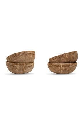 Gaia's Store Buddha Bowl Hindistan Cevizi Kasesi Seti - Coconut Bowl 0