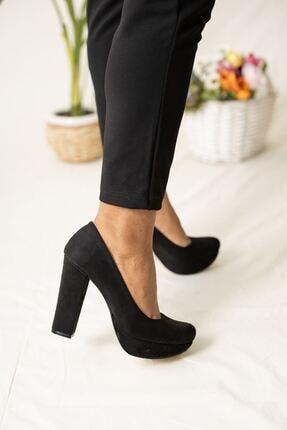 Çift Platform Topuklu Ayakkabı G2390
