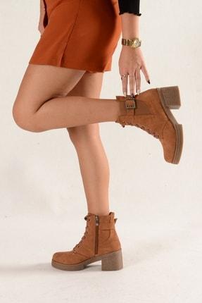 Nil Shoes Taba Süet Yuvi Bot 3