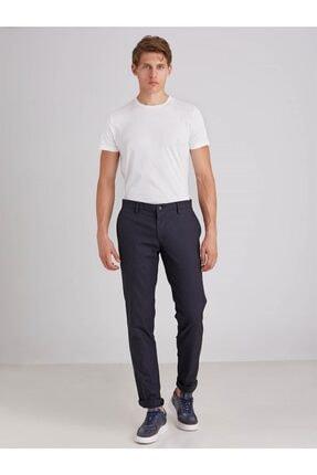Dufy Lacivert Armür Erkek Pantolon - Regular Fit 2