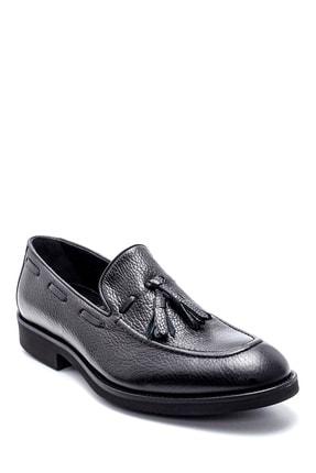 Derimod Erkek Deri Püskül Detaylı Ayakkabı 1