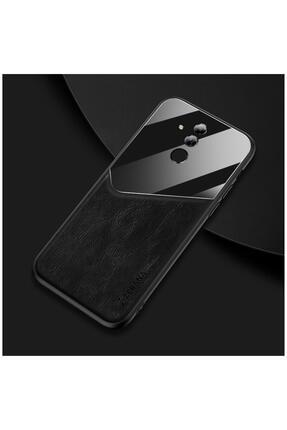 Dara Aksesuar Huawei Mate 20 Lite Kılıf Zebana New Fashion Deri Kılıf Siyah 0