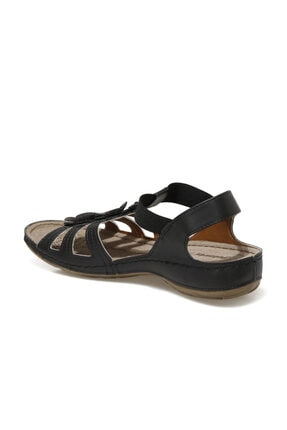 Polaris 91.157362.Z1FX Siyah Kadın Sandalet 101020325 2