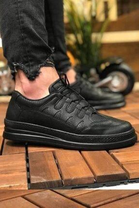 Marsetti Erkek Siyah Spor Ayakkabı 1