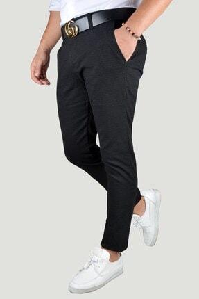 Terapi Men Erkek Siyah Keten Pantolon 9Y-2200198-002 2