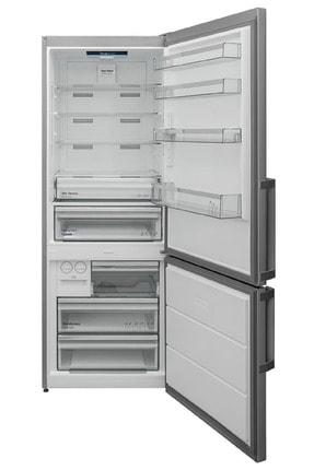 VESTEL NFK5402 EX A++ GI WIFI 540 Lt No-Frost Kombi Inox Buzdolabı 1