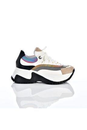 Poletto Kadın Günlük Beyaz Spor Ayakkabı PLT7150003