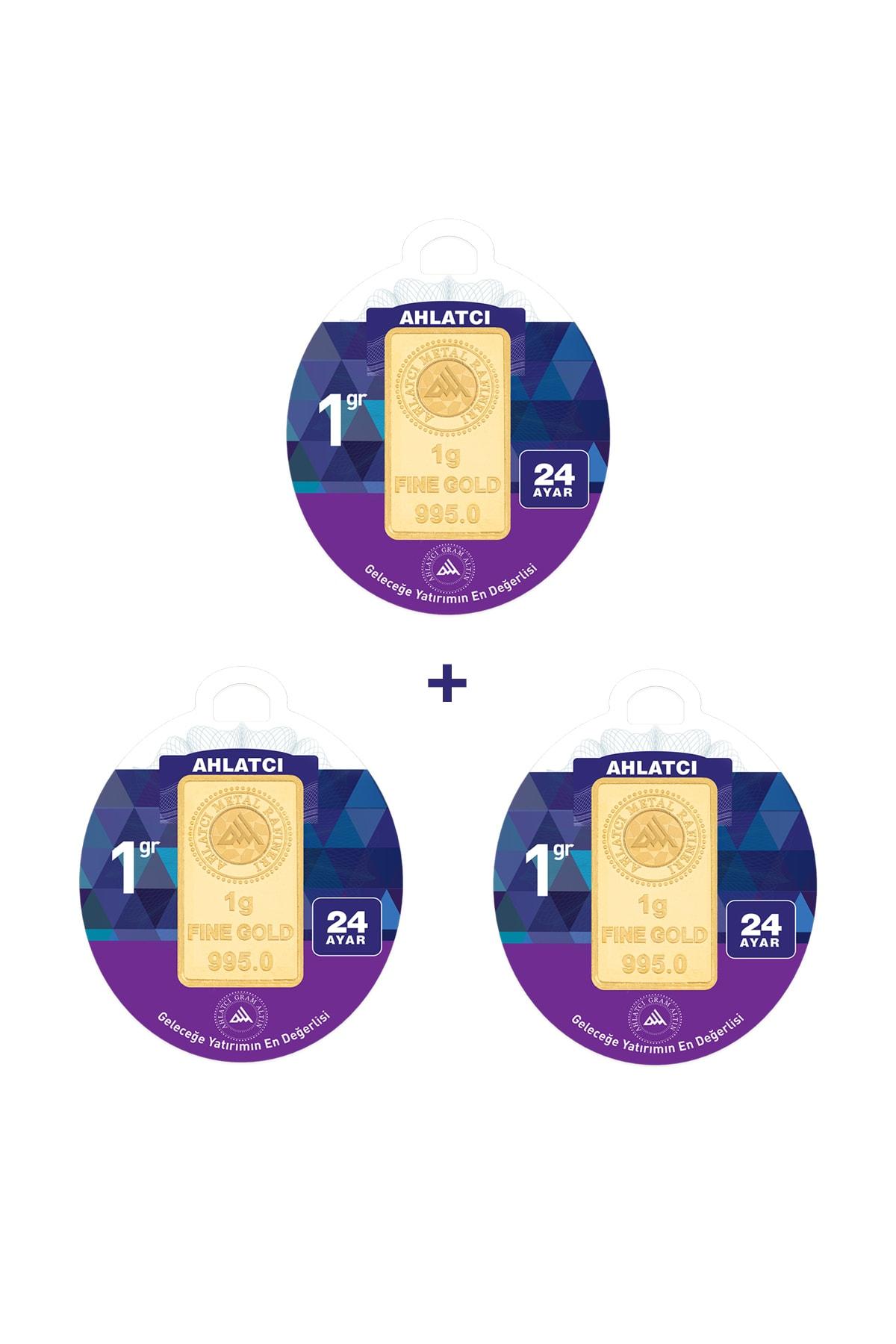 24 Ayar - 3 gram Külçe Altın