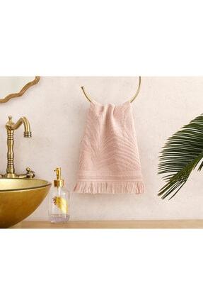 English Home Nude Palm Island Jakarlı El Havlusu 30x40 cm 0