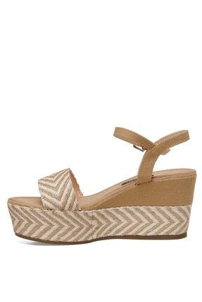 Nine West NORMA Haki Kadın Dolgu Topuklu Sandalet 100524808 3