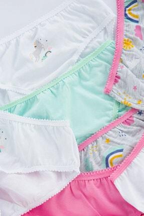 Penti Çok Renkli Kız Çocuk Rainbow 7li Slip Külot 1