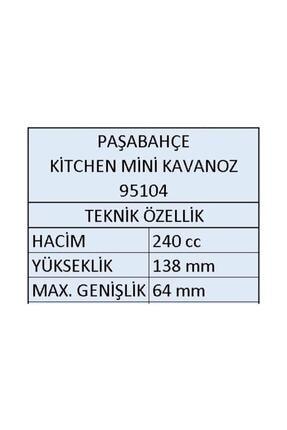 Paşabahçe 4 Li Kıtchen Mini Kavanoz Baharatlık 95104-4 3