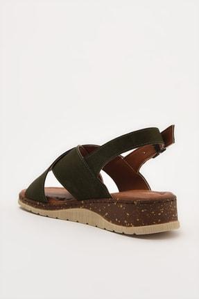Yaya by Hotiç Haki Kadın Sandalet 01SAY212710A880 2